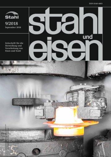 Leseprobe stahl und eisen 09/2018