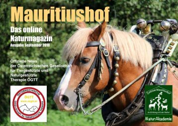 Mauritiushof Naturmagazin September 2018