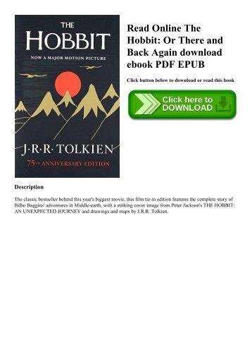 THE HOBBIT EBOOK EPUBS PDF DOWNLOAD