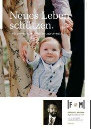 Finance & Management - Flyer KK Geburt 18
