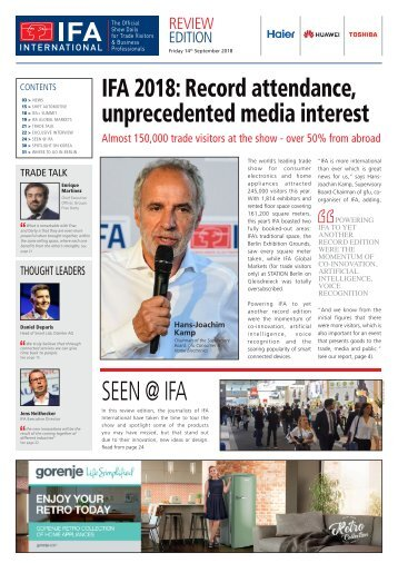 IFA International Review  - 2018 Edition