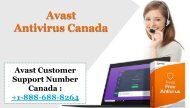 Avast Antivirus Customer Support Number Canada, Dial +1-888-688-8264