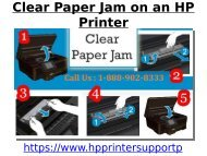 Clear Paper Jam on an HP Printer