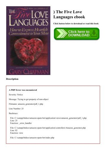 The Five Love Languages For Singles Pdf Free Download