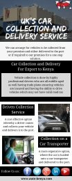 Car Shipping to Kenya from UK | Auto Kenya