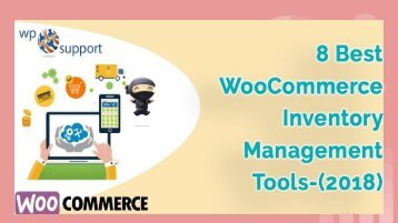 BEST WOO COMMERCE INVENTORY MANAGEMENT TOOLS