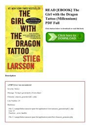 Dragon Tattoo Pdf