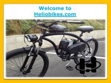 Enjoy Riding with Motorized Bicycles