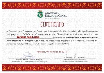 Certificado - 2017