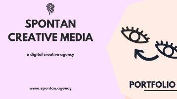 Spontan Creative Media Portfolio 2018