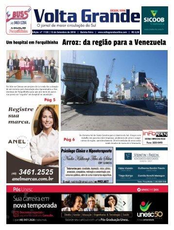 Jornal Volta Grande   Edição 1131 / Forq Veneza