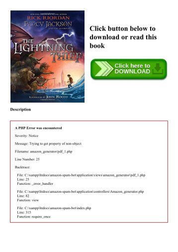 Percy Jackson And The Lightning Thief Ebook