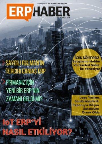 ERP HABER Dergisi Eylül 2018 Sayısı