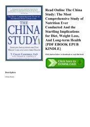The China Study Epub