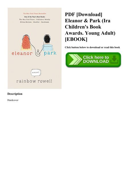 Eleanor And Park Pdf English