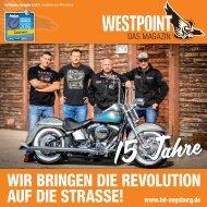 Harley-Davidson WESTPOINT |Das Magazin 2/2018