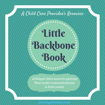 Little Backbone Book