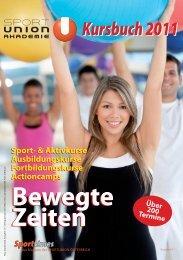 Kursbuch 2011 - Sportunion Wien