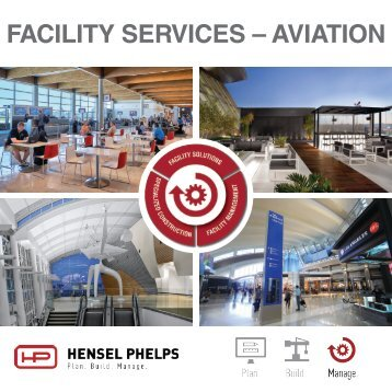 Hensel Phelps Services - Aviation - Digital Brochure