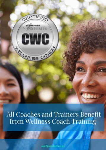 Spencer Institue Wellness Coaching Certificaiton