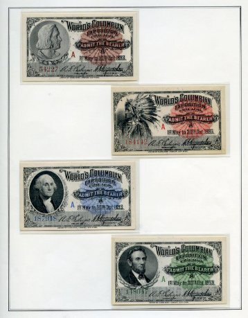 APS Reference Collection: Columbian Exposition Issue