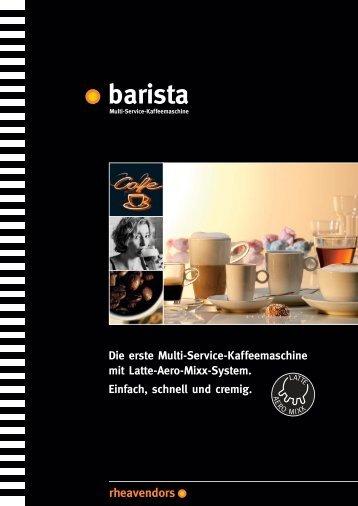 barista easy - more - Kaffee MTS