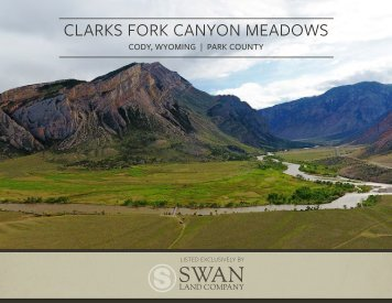 Clarks Fork Canyon Meadow Offering Brochure 8-3-18