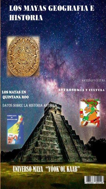"""REVISTA DIGITAL """"Los mayas, Geografía e Historia"""""""
