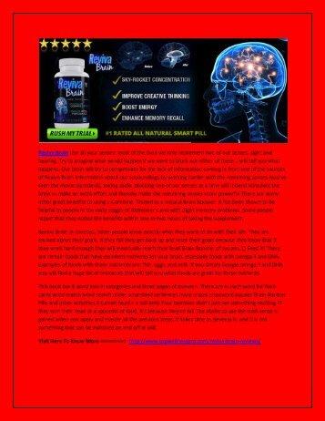 Reviva Brain - Boost Your Brain Power