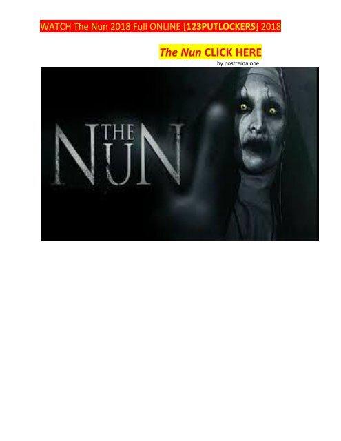 watch the nun 2018 online free putlockers