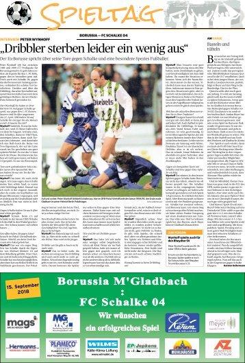 Spieltag: Borussia - FC Schalke 04  -15.09.2018-