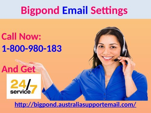 Change Bigpond Email Settings| Use 1-800-980-183 For Assistance