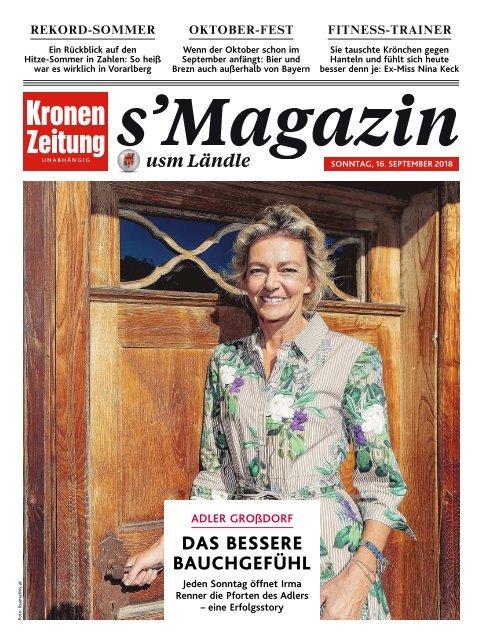 s'Magazin usm Ländle, 16. September 2018