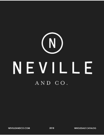 Neville & Co Wholesale Catalog