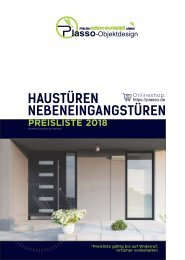 Haustüren Prospekt 2018