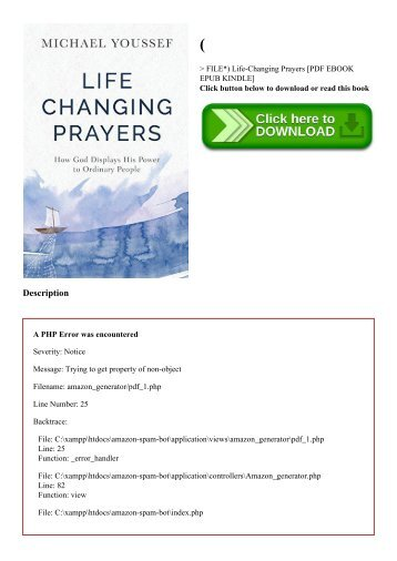 Image Result For Life Changing Prayers Book