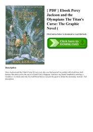 Percy Jackson Titans Curse Graphic Novel Pdf