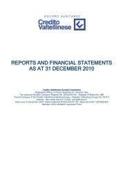 reports and financial statements as at 31 december 2010 - Gruppo ...