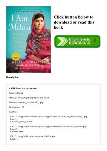 (READ-PDF!) I Am Malala How One Girl Stood Up for Education and Changed the World (Young Readers Edition) [PDF EBOOK EPUB KINDLE]