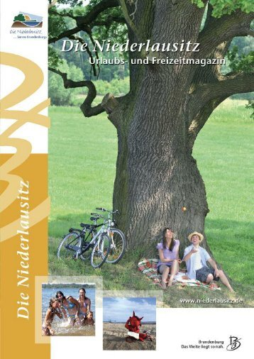 Urlaubsmagazin Niederlausitz 2012