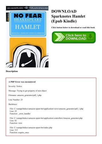 DOWNLOAD Sparknotes Hamlet (Epub Kindle)