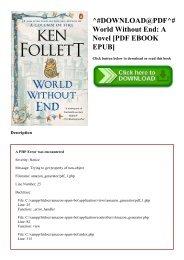 Without follett world pdf ken end