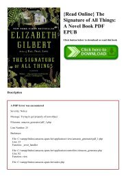 {Read Online} The Signature of All Things A Novel Book PDF EPUB