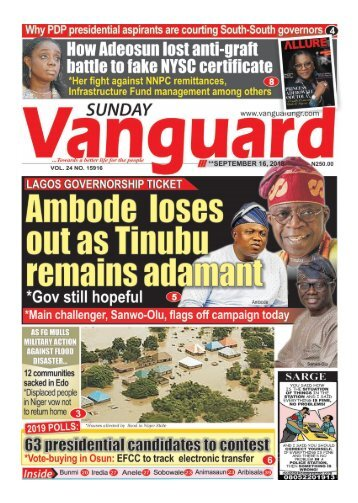 16092018 - Ambode loses out as Tinubu remains adamant