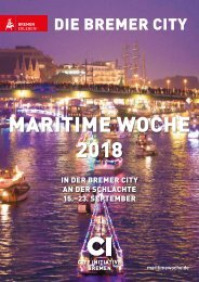 Programmheft Maritime Woche 2018