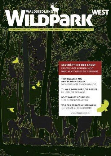 Wildpark-West Herbst 2018