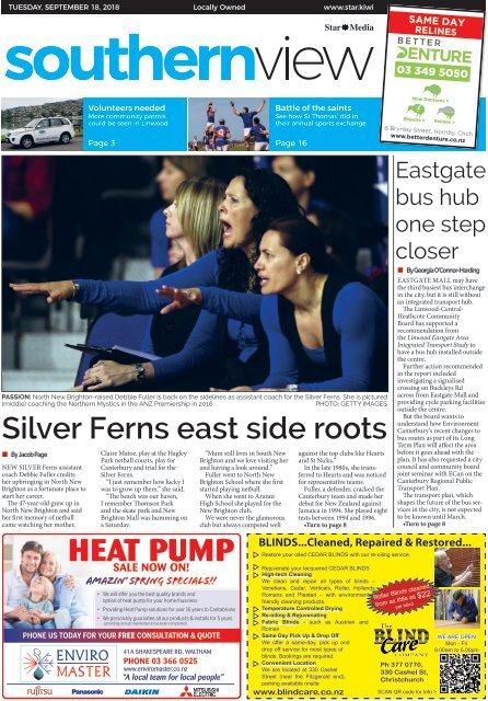 Southern View: September 18, 2018