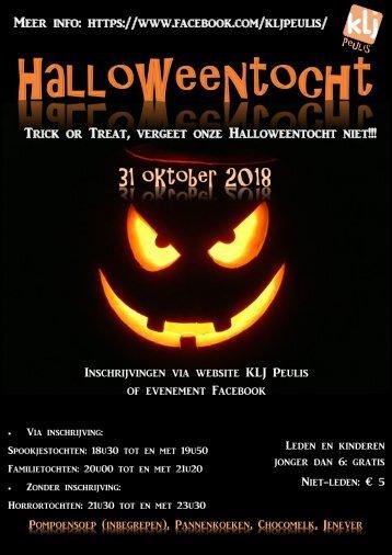 Halloweentocht 2018