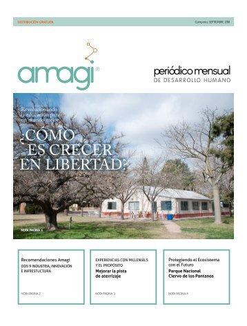 Periódico Amagi Septiembre 2018