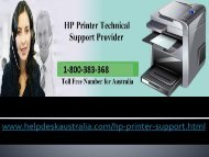 1-800-383-368  Make Easier Hp Printer Support Phone Number